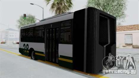 TodoBus Pompeya II Scania K310 Linea 28 Trailer для GTA San Andreas