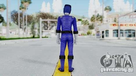 Power Rangers RPM - Blue для GTA San Andreas третий скриншот