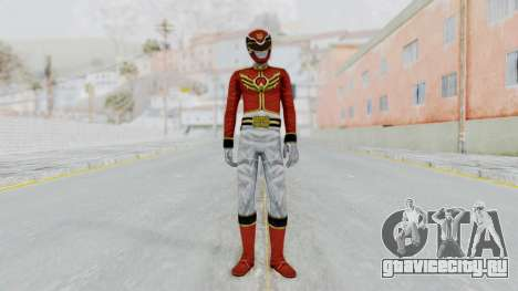 Power Rangers Megaforce - Red для GTA San Andreas второй скриншот