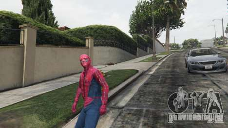 Человек-паук для GTA 5 четвертый скриншот