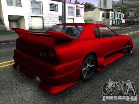 Elegy PFR v1.0 для GTA San Andreas вид слева