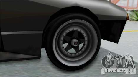 Elegy Rocket Bunny 1.0 для GTA San Andreas вид сзади слева