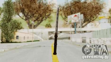 Skyrim Iron Tanto для GTA San Andreas второй скриншот