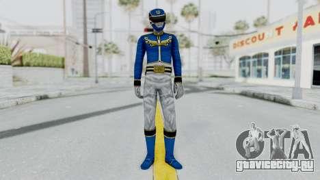 Power Rangers Megaforce - Blue для GTA San Andreas второй скриншот
