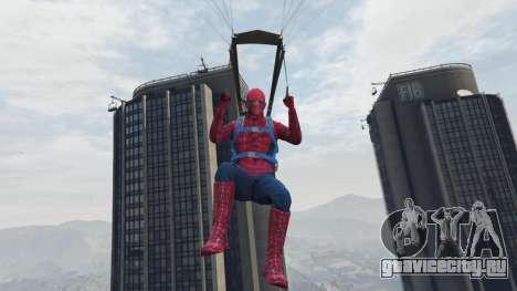 Человек-паук для GTA 5