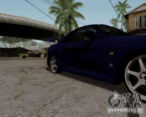 Nissan R33 GT-R Tunable для GTA San Andreas колёса