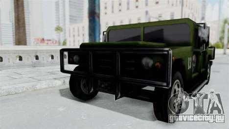 Patriot from Manhunt 2 для GTA San Andreas вид сзади слева