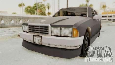 GTA 3 Mafia Sentinel для GTA San Andreas вид справа