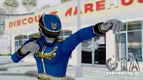 Power Rangers Megaforce - Blue для GTA San Andreas