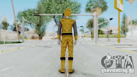Power Rangers Ninja Storm - Yellow для GTA San Andreas третий скриншот
