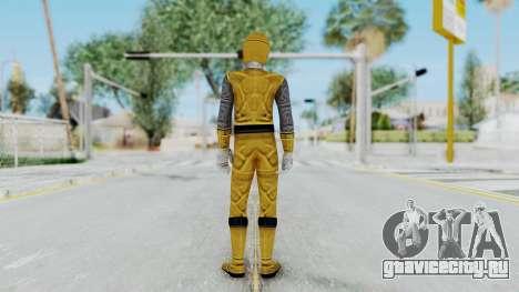 Power Rangers Ninja Storm - Yellow для GTA San Andreas третий скриншот