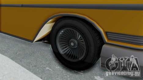 GTA 5 Declasse Tornado Bobbles and Plaques IVF для GTA San Andreas вид сзади