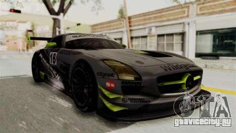 Mercedes-Benz SLS AMG GT3 PJ3 для GTA San Andreas двигатель