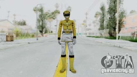 Power Rangers Megaforce - Yellow для GTA San Andreas второй скриншот