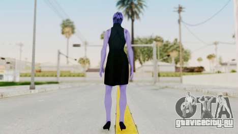 Mass Effect 3 Aria TLoak Gunn Dress для GTA San Andreas третий скриншот
