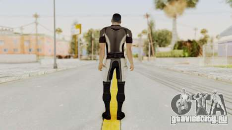 Mass Effect 2 Shepard Casual для GTA San Andreas третий скриншот