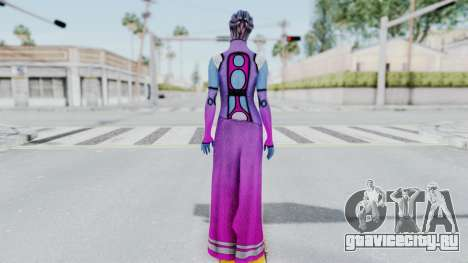 Mass Effect 1 Shaira Dress для GTA San Andreas третий скриншот