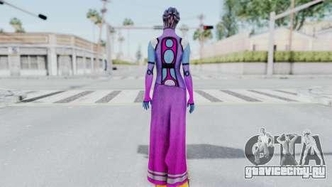 Mass Effect 1 Shaira Dress для GTA San Andreas третий скриншот