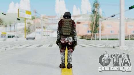 Black Mesa - Wounded HECU Marine v1 для GTA San Andreas третий скриншот