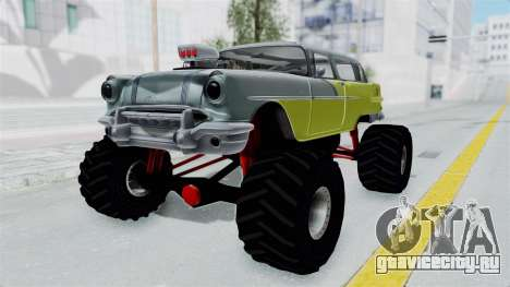 Pontiac Safari 1956 Monster Truck для GTA San Andreas вид справа