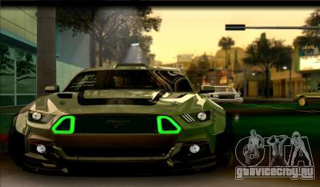 Ford Mustang RTRX Coupe для GTA San Andreas