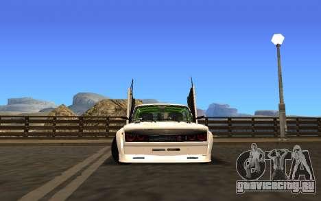 VAZ 2107 Race для GTA San Andreas вид слева