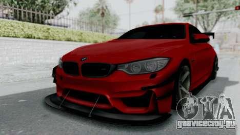 BMW M4 F82 Race Tune для GTA San Andreas