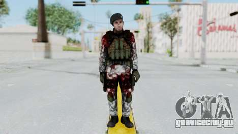 Black Mesa - Wounded HECU Marine Beret для GTA San Andreas второй скриншот