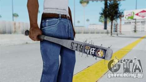 Nail Baseball Bat v5 для GTA San Andreas третий скриншот