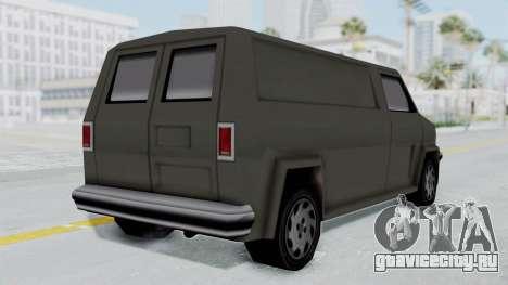 Burrito from Manhunt 2 для GTA San Andreas вид слева
