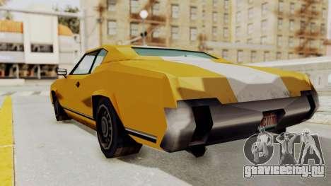 GTA VCS - Cholo Sabre для GTA San Andreas вид слева