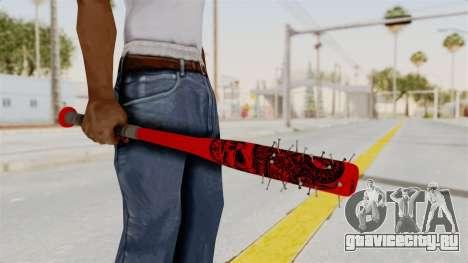 Nail Baseball Bat v2 для GTA San Andreas третий скриншот