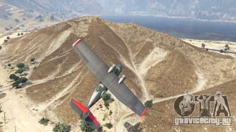 PBY 5 Catalina для GTA 5 четвертый скриншот