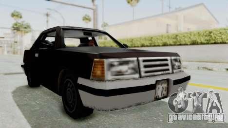 GTA 3 Manana для GTA San Andreas вид справа