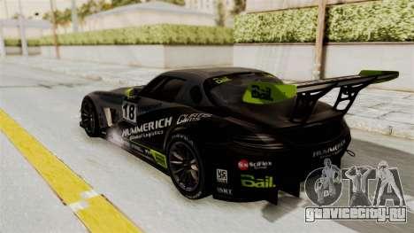 Mercedes-Benz SLS AMG GT3 PJ3 для GTA San Andreas колёса