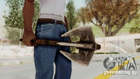 Skyrim Iron Mace для GTA San Andreas третий скриншот