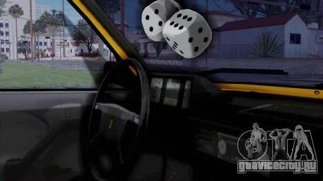 Tofas Kartal Taxi для GTA San Andreas вид справа