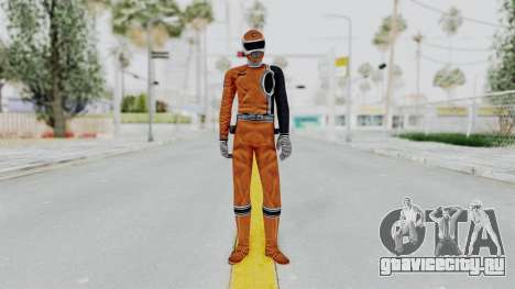 Power Rangers S.P.D - Orange для GTA San Andreas второй скриншот