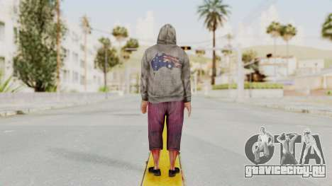 Kane And Lynch 2 - Lynch Hood Up для GTA San Andreas третий скриншот