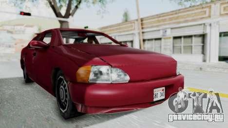 GTA 3 Kuruma для GTA San Andreas