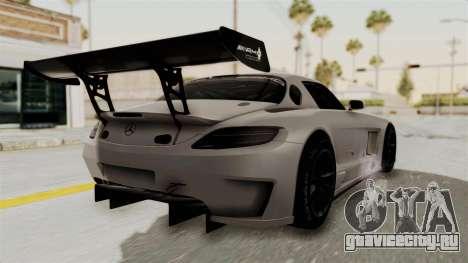 Mercedes-Benz SLS AMG GT3 PJ3 для GTA San Andreas вид слева