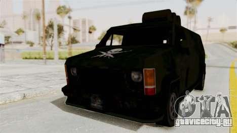 Boodhound Burrito - Manhunt 2 для GTA San Andreas вид сзади слева