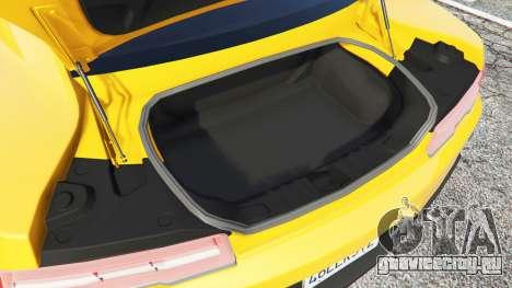 Chevrolet Camaro SS 2014 v1.1 для GTA 5 руль и приборная панель