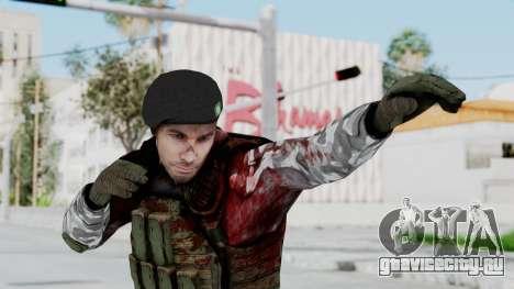 Black Mesa - Wounded HECU Marine Beret для GTA San Andreas