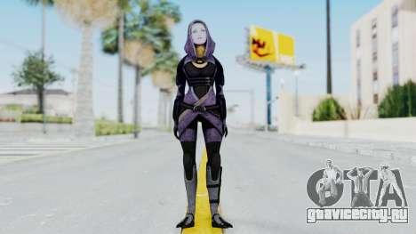 Mass Effect 3 Tali Zorah Unmasked для GTA San Andreas второй скриншот