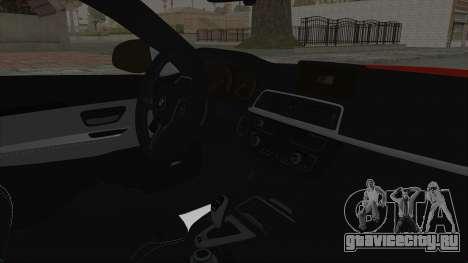 BMW M4 F82 Race Tune для GTA San Andreas вид справа