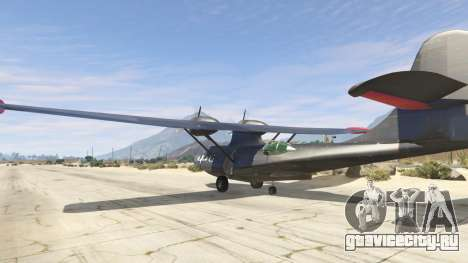 PBY 5 Catalina для GTA 5 третий скриншот