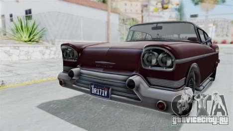 GTA 5 Declasse Tornado Bobbles and Plaques для GTA San Andreas вид справа