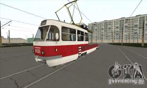 Tatra T3 служебный для GTA San Andreas