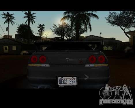 Nissan R33 GT-R Tunable для GTA San Andreas вид справа
